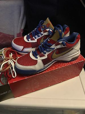 huge discount eb873 58b82 Nike Manny Pacquiao Training Sneakers Special Edition Sz 11.5 Brand New Rare