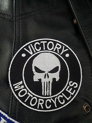Victory Motorcycle Round Punisher Patch