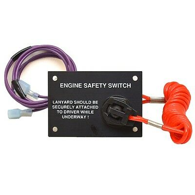 Marine Electrical Boat Engine Safety Switch 74194 | Larson Cabrio