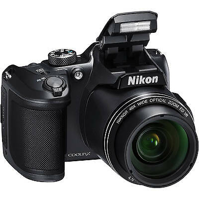 Halloween Deals Retail Box Sale Nikon Coolpix B500 16.0 Mp Digital Camera Black