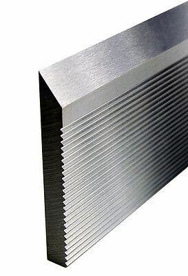 CORRUGATED BACK  HIGH SPEED MOLDER KNIFE STEEL 25 x 3 x 5/16 BARS