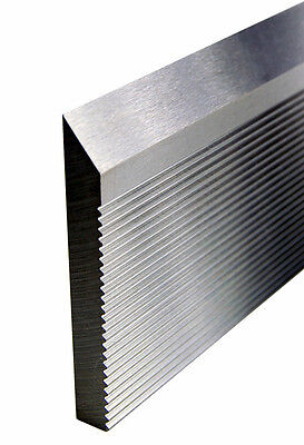 CORRUGATED BACK  HIGH SPEED MOLDER KNIFE STEEL 25 x 2 x 1/4 BARS