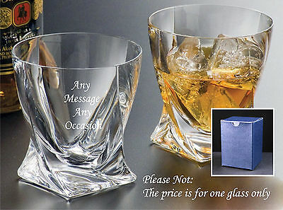 Personalised Engraved Whisky Glass Wedding gifts, best man gifts, usher gifts