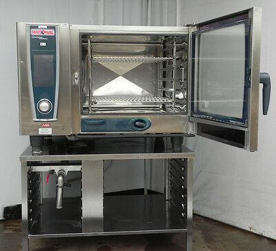 combi oven steamer electric convection full size Rational white efficiency 2015