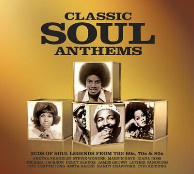 Various Artists - Classic Soul Anthems - Various Artists CD VEVG The Cheap Fast