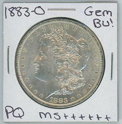 1883-O Morgan Dollar Uncirculated US Mint Gem PQ Silver Coin BU Unc MS++++++