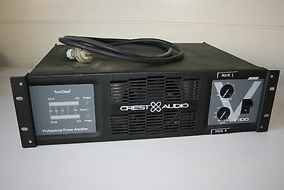 Power amp amplifier by Crest  Audio Professional  V1100 -  Club DJ  Band