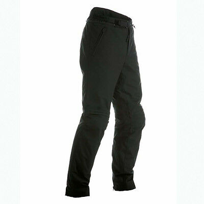 Dainese Amsterdam D-Dry Black Moto Motorcycle Waterproof Trouser All Sizes