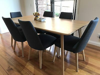 Dining Table And Chair Set Like New Well Maintain