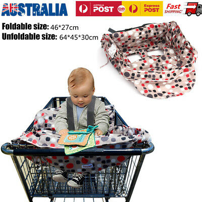 Comfortable Baby Toddler Shopping Trolley Liners Seat Protector High Chair Cover