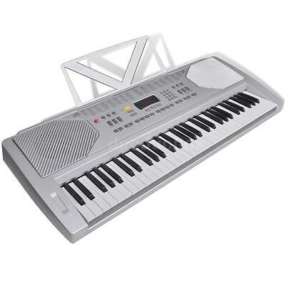 61 Piano-key Electric Keyboard with Music Stand M4O3
