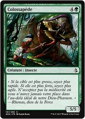 MTG Magic AKH - (x4) Colossapede/Colossapède, French/VF