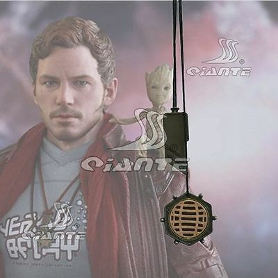 Guardians of the Galaxy 2 Star Lord Necklace Peter Quill Pendent Cosplay Prop