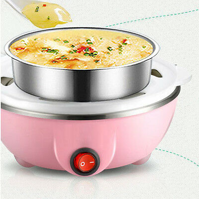Travel Electric Multi-functional 7-Eggs Boiler Cooker Steamer Automatic Cooking