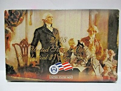 2008 U S Mint Presidential $1 Coin Proof Set