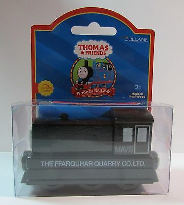 Thomas The Tank & Friends-Wooden Mavis W/collector Card Red Label 2001 **new**