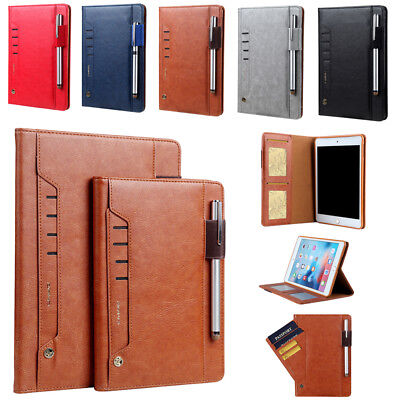 Leather Smart Stand Case Cover for iPad 9.7 2017 2018 Air Mini 1 2 3 4 Pro 10.5
