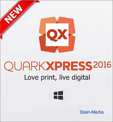 QuarkXpress 2016 for WINDOWS Multilingual 2 DEVICES FULL VERSION email delivery