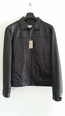Men's Black Leather Jacket - Reserve Brand from Myer - New With Tag (RRP $249)