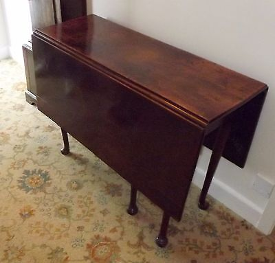 Georgian Drop Leaf Mahogany Table
