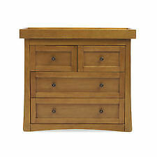 New boxed Mothercare Harrogate drawer unit with changer top