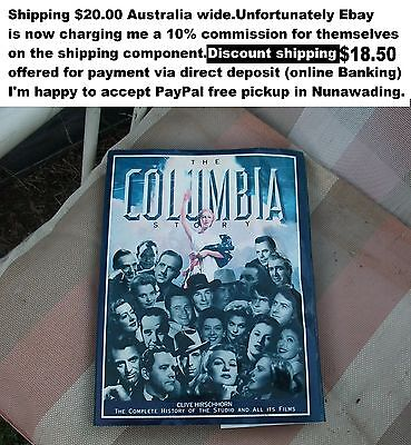 The Columbia story by Clive Hirschhorn book of old time movie stars