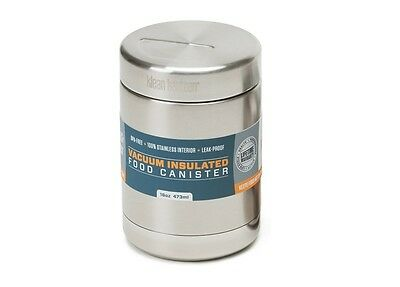Klean Kanteen 473ml Vaccum Insulated Stainless Steel Food Canister RRP £32.95