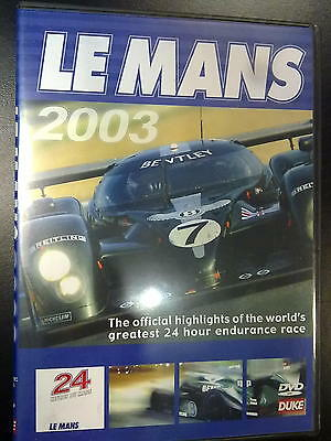 24 Heures du Mans, Le Mans 2003 Official review