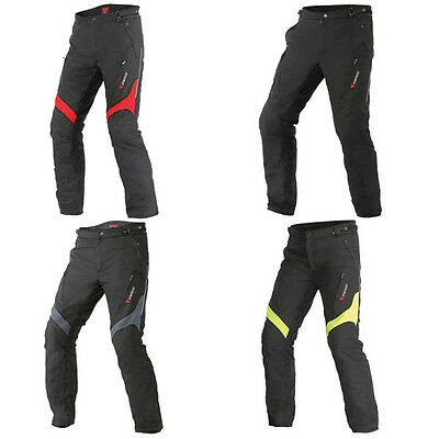 Dainese Tempest D-Dry Moto Motorcycle Motorbike Trousers All Colours & Sizes