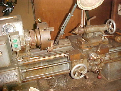 Sheldon Lathe Ws-46-P Variable Speed With Chucks, Collet Closer, Etc