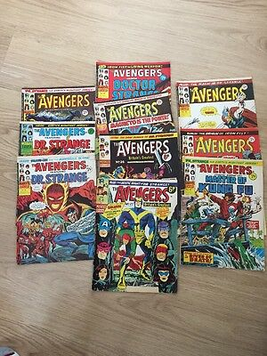 The Avengers + Magento, Doctor Strange, Shang-Chi Appearances - Comics Bundle