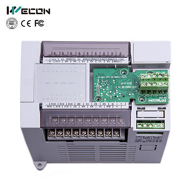 Analog Inputs/Outputs for WECON PLC via Clip-On Board Expansion in PLC