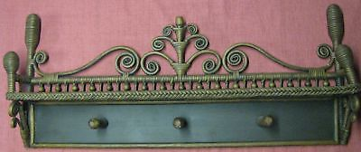 Yesteryear Wicker Victorian Coat Rack