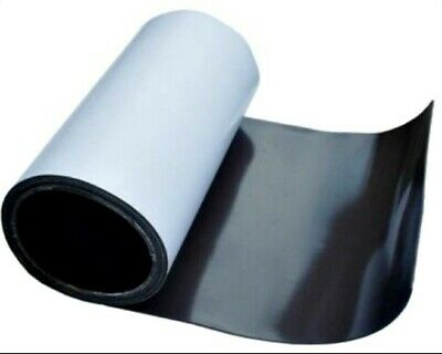 Flexible Magnetic Rubber Self Adhesive Roll Sheet Film  Sign Board Fridge