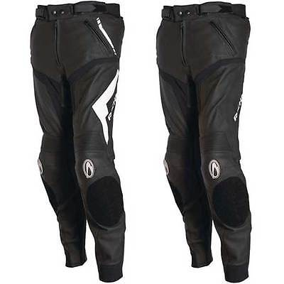 Richa Mugello Leather Sports Touring Motorcycle Motobike Trousers All Sizes