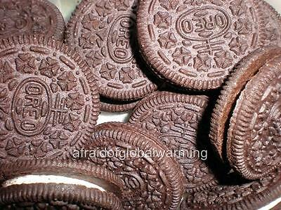 Old Photo. Close-up Oreo Cookies