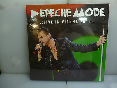 Depeche Mode-Live In Vienna 2014. Vienna, Austria 2014-Black Vinyl Lp-New.sealed