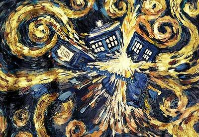 Doctor Who - Exploding Tardis Picture Poster Home Decor Wall Art Print New