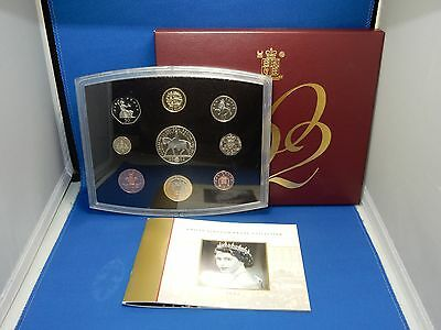 2002 United Kingdom 9-Coin Proof Collection