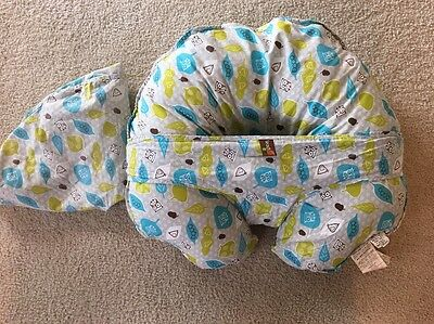 Leachco Nursing Lounger Newborn Infant Baby Pillow With Extra Cover