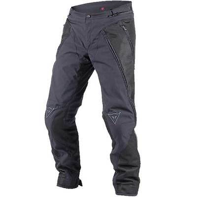 Dainese Over Flux Black Moto Motorcycle Motorbike Textile Trouser All Sizes