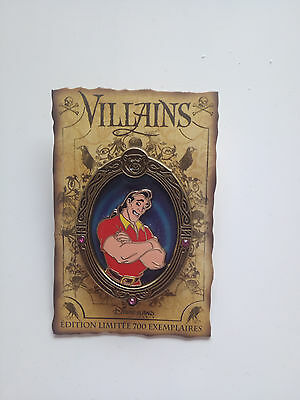 DLP DLRP Pin DISNEY GASTON série Villains limité 700