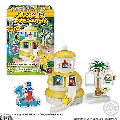 Bandai Pokemon Sun & Moon Melemele Island Pokemon School 5X Mini Figures