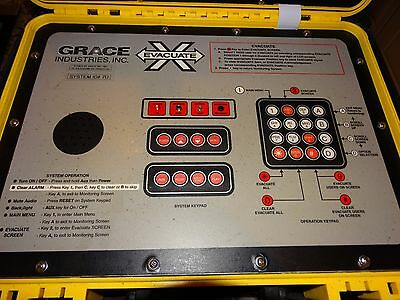 Grace Industries Inc. Pre-owned T Pass LCD Evacuate Advanced Command Base