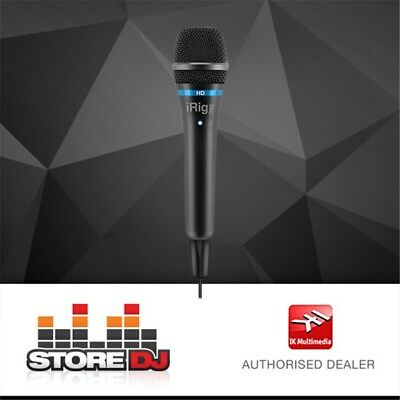 IK Multimedia iRig Mic HD Handheld Mic for iOS