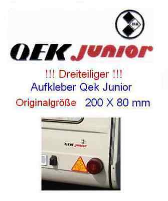 Aufkleber (Sticker) Qek Junior (200 mm x 80 mm)