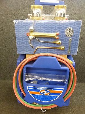 New!! Uniweld Welding & Cutting Kit With Tanks Kl22P