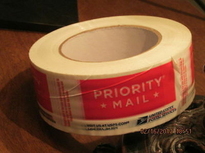 1 New Roll Priority Mail Postal Tape #106A January 2015