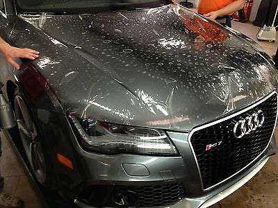 Paint Protection Film Vinyl Wrap Roll Clear Gloss Self Adhesive Car Motorbike