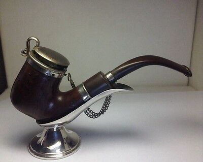 NEW OLD STOCK Antique GORHAM Sterling Silver Smoking Pipe Stand Holder